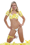 Jenni Gregg Lemon sorbet istripper model