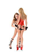 Viola & Lola Reve Duo istripper model